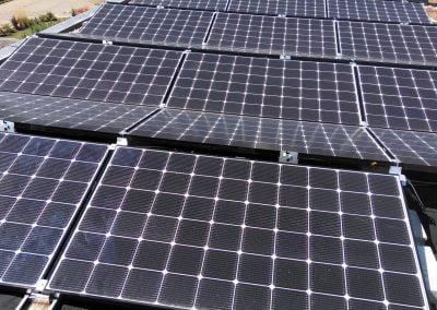 10 kwp Privat Nürtingen Photovoltaik Flachdach 2018