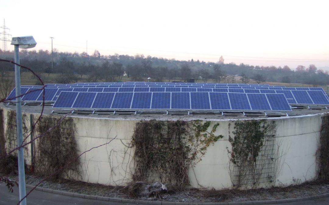Photovoltaik Anlagen für Abwasserverband