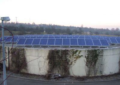 Photovoltaik Anlagen für Abwasserverband Waiblingen, Backnang